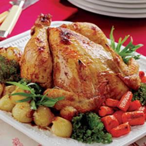 Pollo agridulce