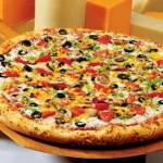 Pizza rápida con polvo de hornear