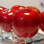 Recetas para niños: manzanas acarameladas