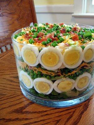 Deliciosa y nutritiva ensalada completa