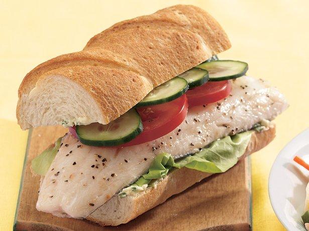 Sándwiches de pescado