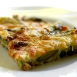 Tortilla de esprragos light