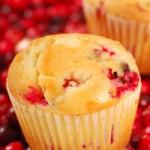 Recetas navideñas: muffins de cereza con salsa de manzana