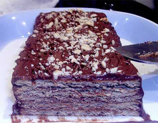 Torta marquesa de chocolate muy fácil