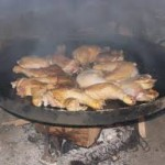 Receta de pollo al disco