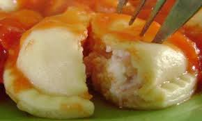 Sorrentinos caseros de jamón y queso