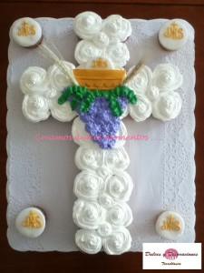 torta en forma de cruz