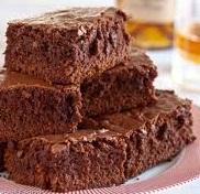 Receta de brownies de chocolate